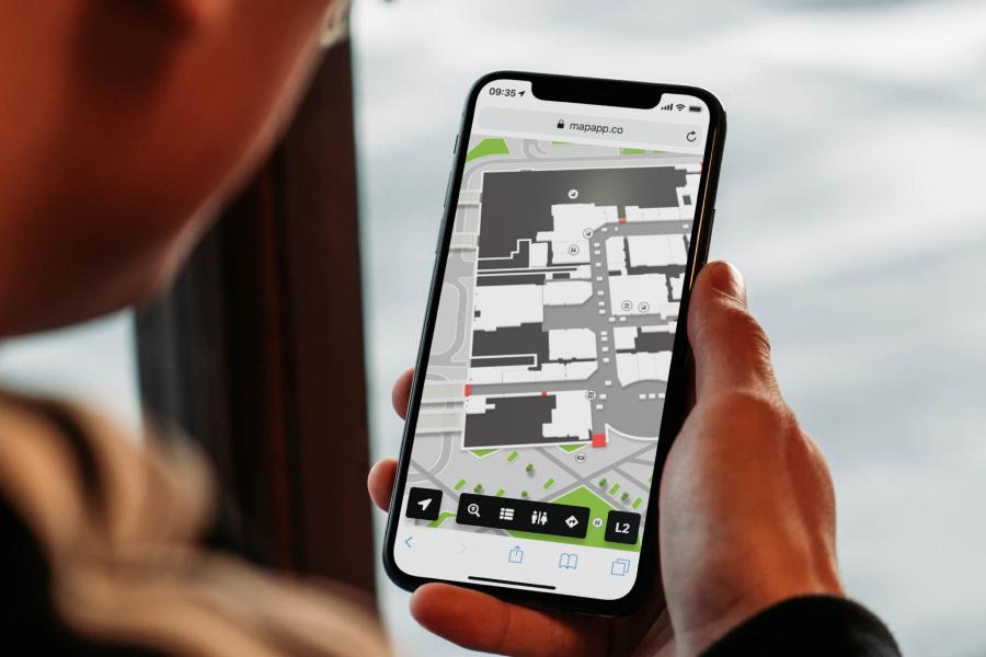 Wayfinder on mobile