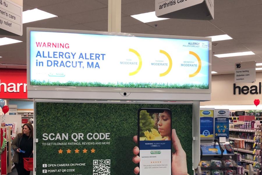 Digital shelf edge display