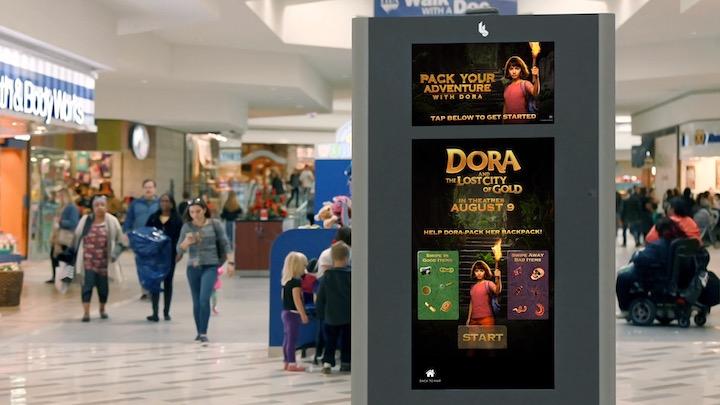 Digital signage for Dora