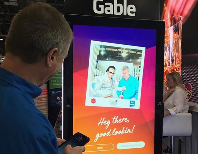 interactive advertising digital signage
