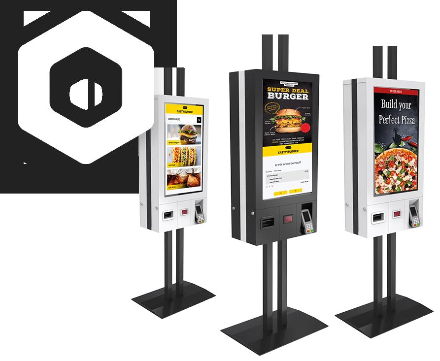 quick service ordering kiosk