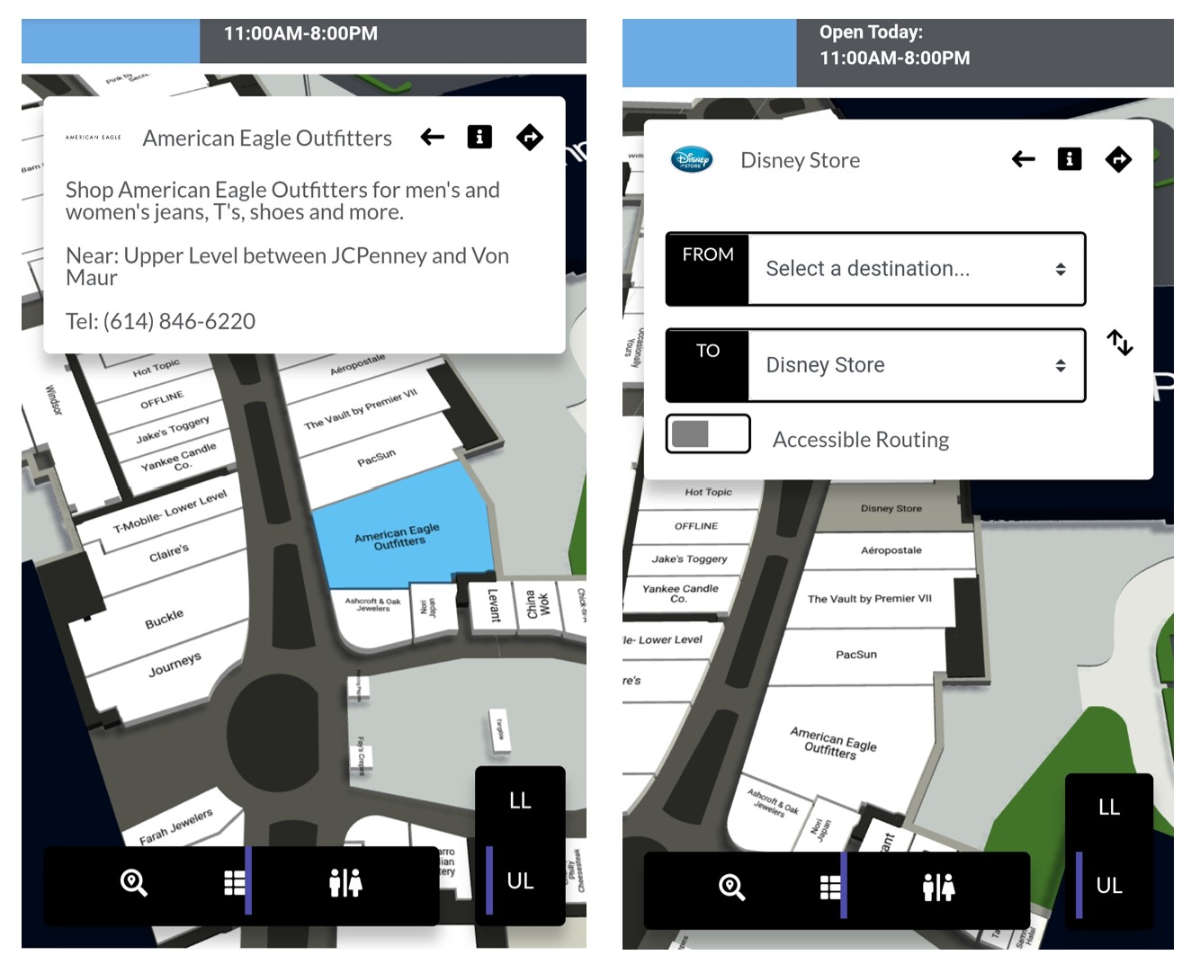 Mobile venue wayfinding and mapping software