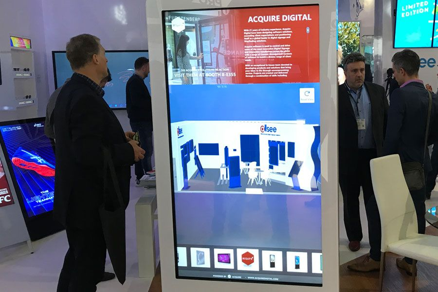 Interactive product kiosk applications.